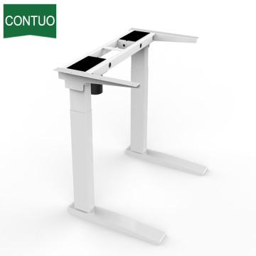 High Quality for Single Motor Standing Desk,Adjustable Table,Adjustable Computer Desk Manufacturer in China Ergonomic Electric Standing Adjustable Sit Stand Up Desk export to Barbados Factory