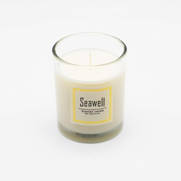 home decoration natural soy wax candle