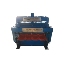 Glazed Tile Roll Forming Machine With Low Consumption