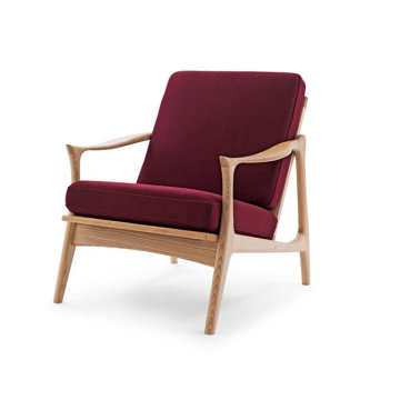 Cheap price for Modern Wooden Sofa Fredrik model 711 chair solid wood chair supply to Germany Supplier