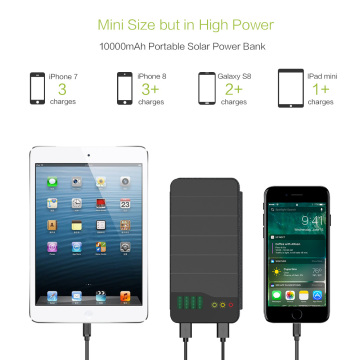10 Years for Multifunctional Power Bank Solar Charging External Battery Pack For Smart Phone supply to Costa Rica Exporter