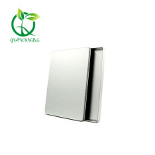 Square metal tins with lids for sales