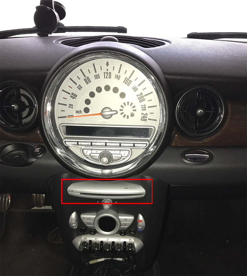 Mini Cooper 0711 orginal head unit