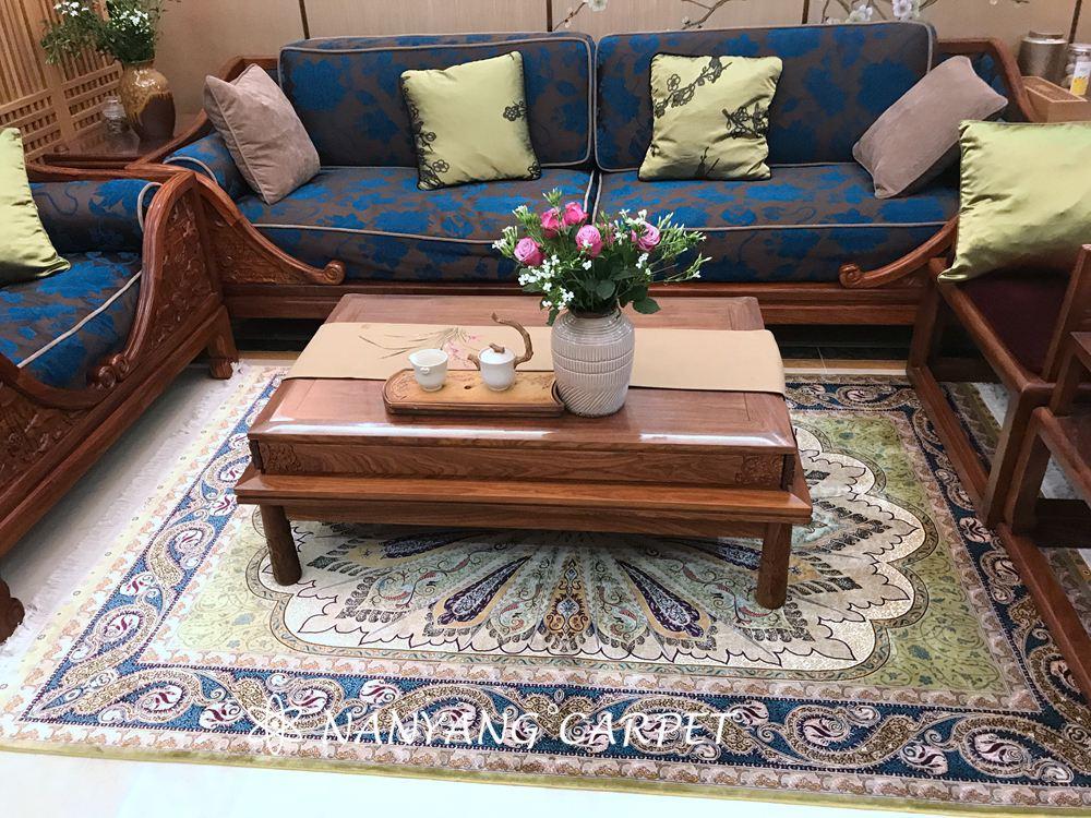 Silk Turkish carpet