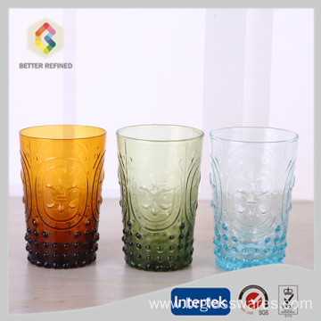 Best Quality for Stemless Wine Glass wholesale colored antique wine glasses export to Wallis And Futuna Islands Manufacturers