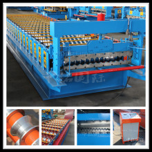 Steel Sheet Roof Panel Roll Forming Machine Effective Width 1100