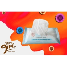 Portable adult wet wipes for face