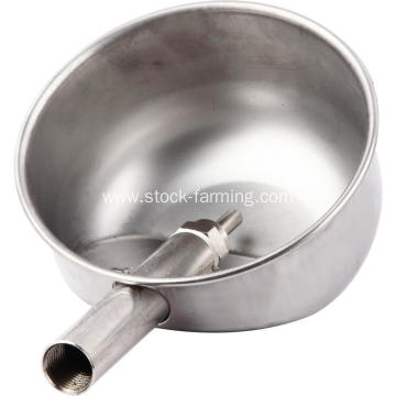 pig farm equipment stainless drinking bowl