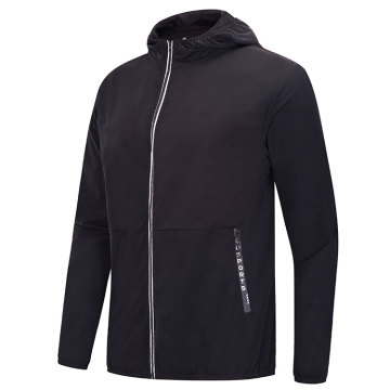 Gym nylon jacket for men