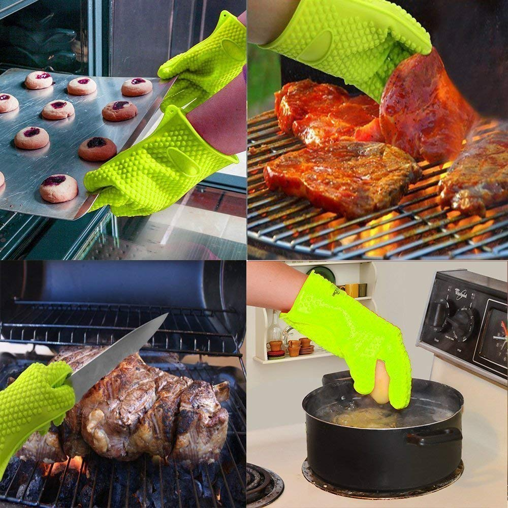 silicone gloves for oven