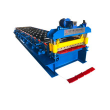 colored steel roof tiles making forming machine