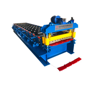 colored glaze steel building material making machine