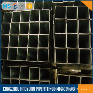 Galvanized ms square steel pipe sch40 20X20