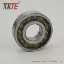 Goods high definition for Sealed Polyamide Cage Bearing Nylon Sealed Ball Bearing 6204 TN9/C3/2RS/RS export to Guatemala Manufacturer