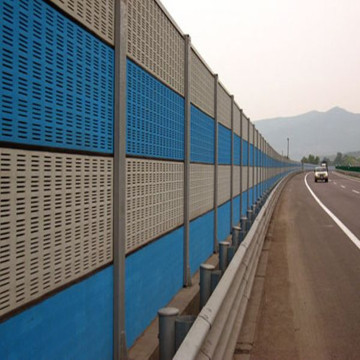 Powder Coated Sounds Barrier Fence Panel