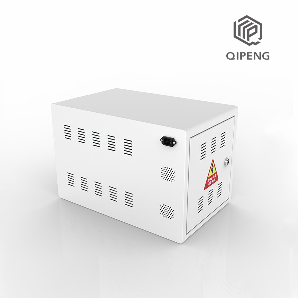 Desktop SYNC Data charging cabinet in office