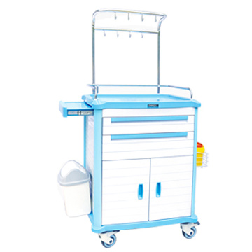 Two drawers ABS treatment cart