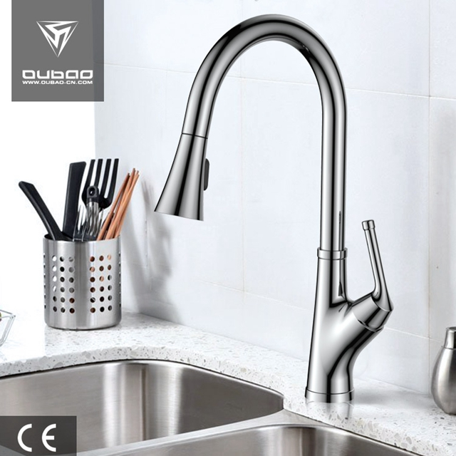 Tradition Single-Handle Table Top Pull Down Kitchen Tap