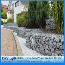 Galvanized Wire welded gabion/stone basket