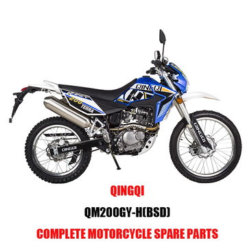 QINGQI QM200GY-H BSD Engine Parts Motorcycle Body Kits Spare Parts Original