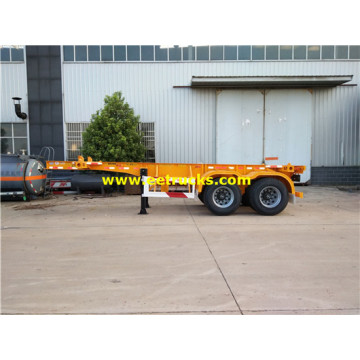 2 Axle 30 Ton Low Flatbed Trailers