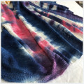 Polyester Spandex Tie Dyed Hacci