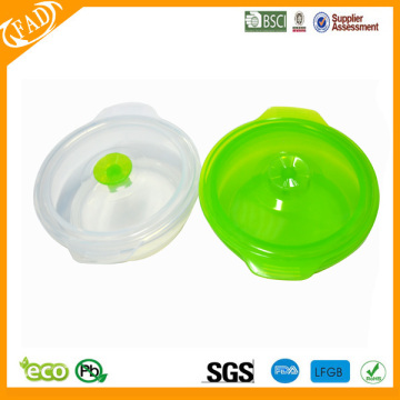 Fast Delivery for China Round Bento Lunch Box,Silicone Folding Lunch Box Set Silicone Lunch Box And Food Storage Container supply to Slovenia Exporter