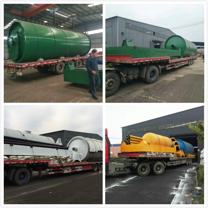 pyrolysis delivery to port