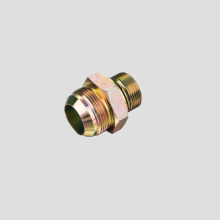 Straight JIC male 74º Cone-Metric Male Adapters