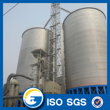 1000 MT Vertical storage steel silo for grain