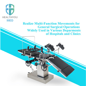 Manual Surgery Operating Room Table