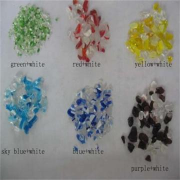 Customized for Polishing Glass Beads Natural crushed glass for aquarium decoration export to Switzerland Importers