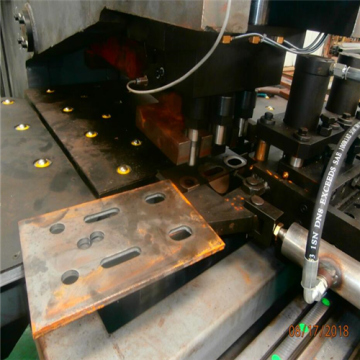 CNC Hydraulic Steel Plate Punching Marking Machines