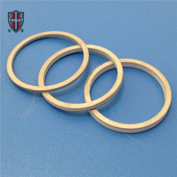 Al2O3 alumina ceramic ring disk plate customized