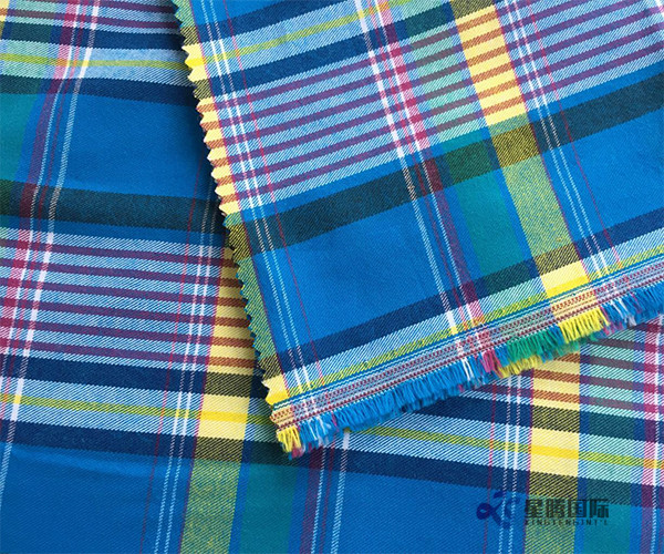 Good Cotton Yarn Dyed Check Fabric