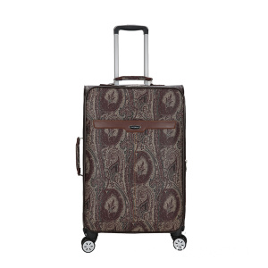 Reliable Supplier for Fashion Leather Trolley Luggage PU leather animal skin Pattern luggage export to Tonga Exporter