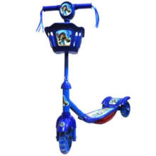 Blue Baby Scooter with Balance Wheels