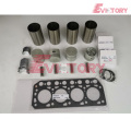 excavator K4C engine gasket bearing piston ring liner