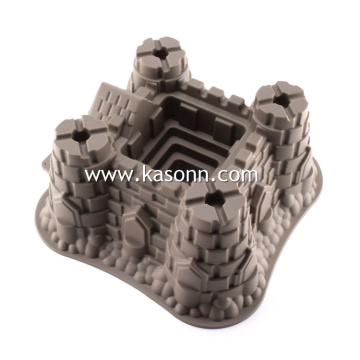 Large Castle Cake Pastry Mold
