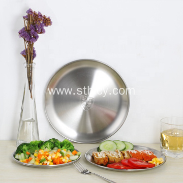 Stainless Steel Meat Tray Pizza Tray Bake Ware