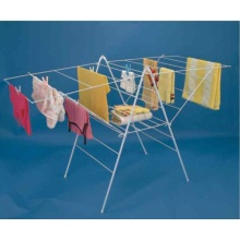 2-Tier Folding Clothes Airer With Wings