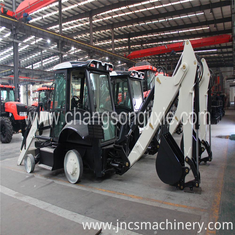 Mini Backhoe Wheel Loader price 3ton