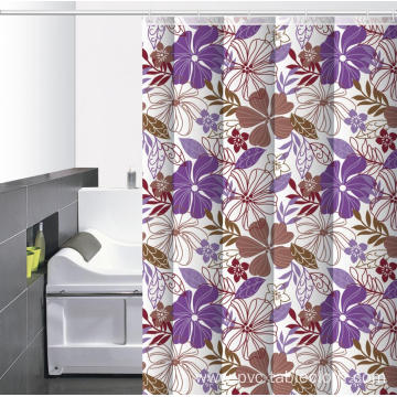 Waterproof Bathroom printed Shower Curtain Japanese