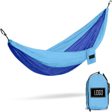 210T High strength breathable woven nylon camping hammocks