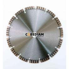 400mm Laser Welded Turbo Segmented Blade