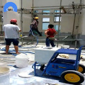 Wall mortar cement putty spraying plaster rendering machine