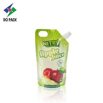 200ML Apple Juice Stand Up Pouch With Spout