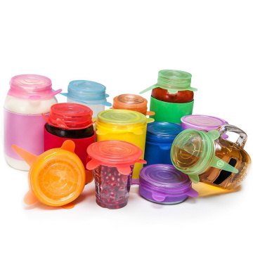 Wholesale Silicone stretch lids for food container