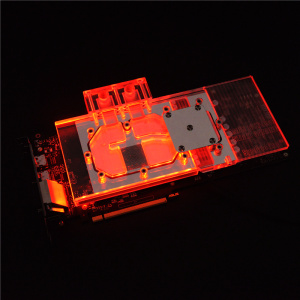 Syscooling Ga-lax-y General 1060 6G Full Coverage Transparent rgb light Water cooling Block