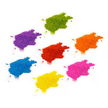 Assorted colors Individual holi paint color Packets